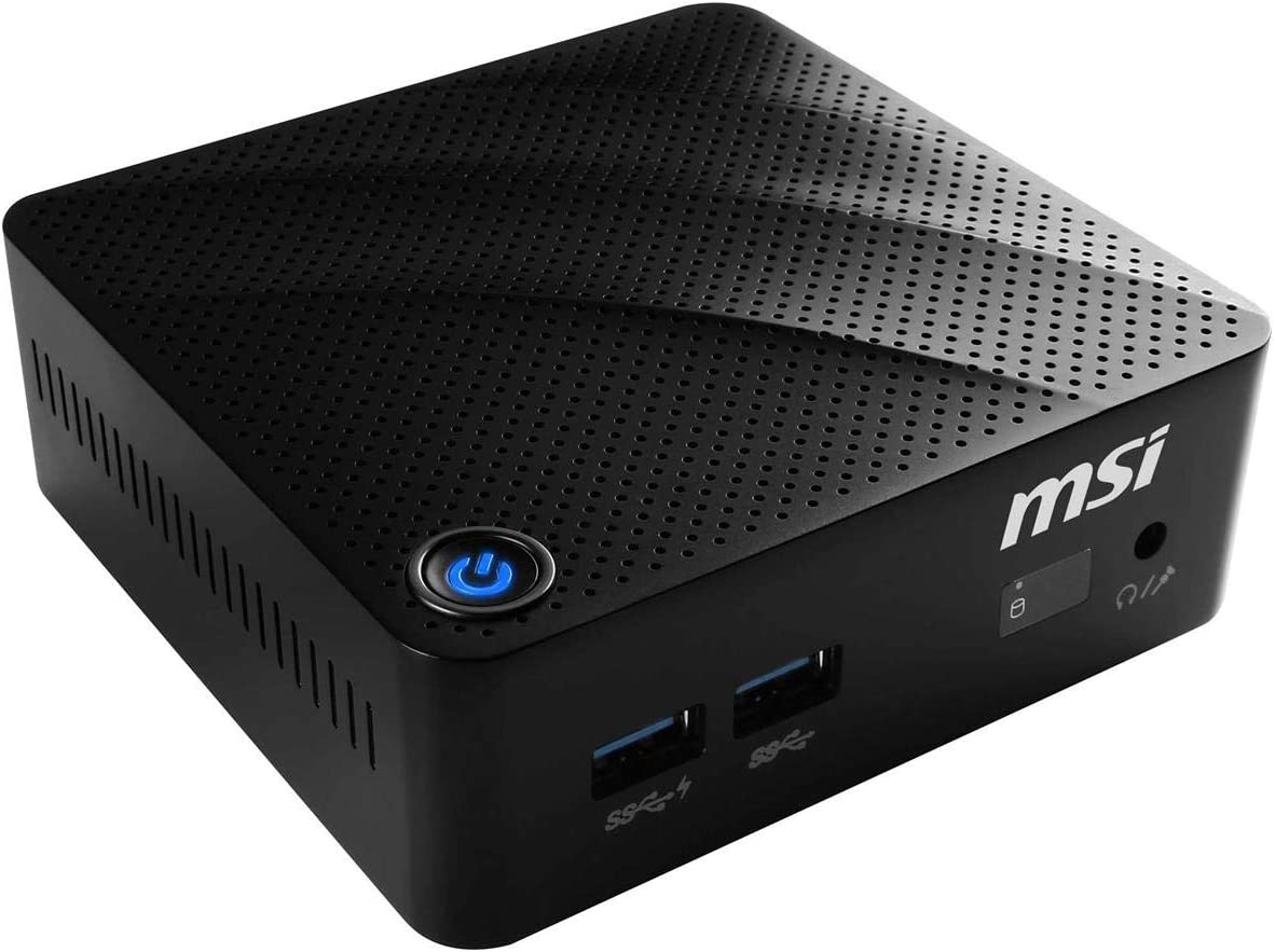 MSI Cubi N 8GL-094US Intel Celeron N4000 Processor 4GB DDR4 64GB M.2 SSD Windows 10 Pro
