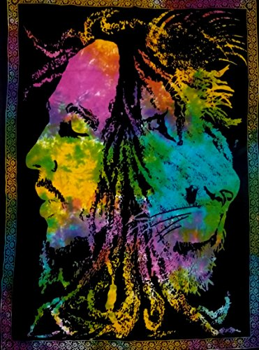 (ICC Bob Marley Lion Face Poster 30x40In Hippie Bob Marley Bohemian Poster , Christmas Decoration,Christmas Poster For Windows, Christmas gift, Bob Marley Tapestry Wall Hanging, Bob Marley Dorm Decor)