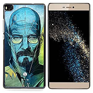 - Series Original Meth Walter Tv Jesse - - Snap-On Rugged Hard Cover Case Funny HouseFOR HUAWEI P8