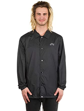 Nike Sb Shield Coach Jacket - Black/Cool Grey sz Small