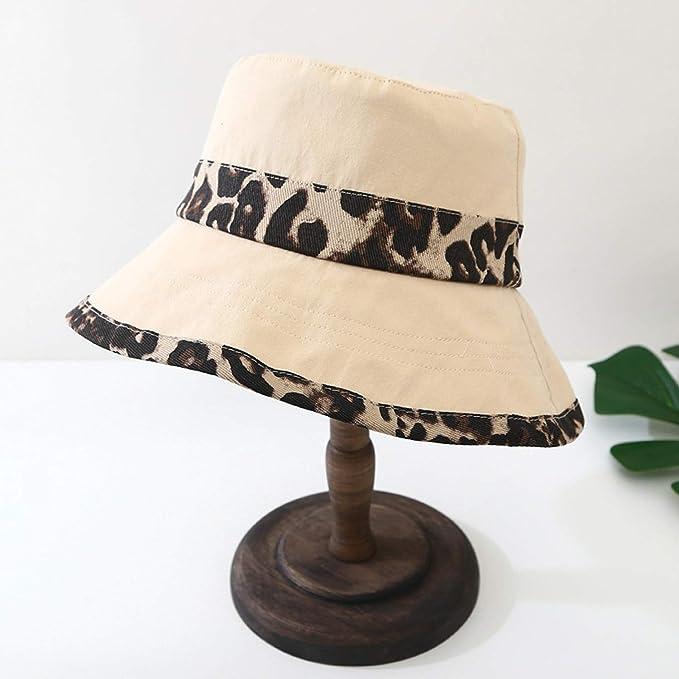 Amazon.com: Beach hat Wide Brim Leopard Wide Brimmed Floppy Foldable Summer Sun Beach Hat,Pink: Clothing