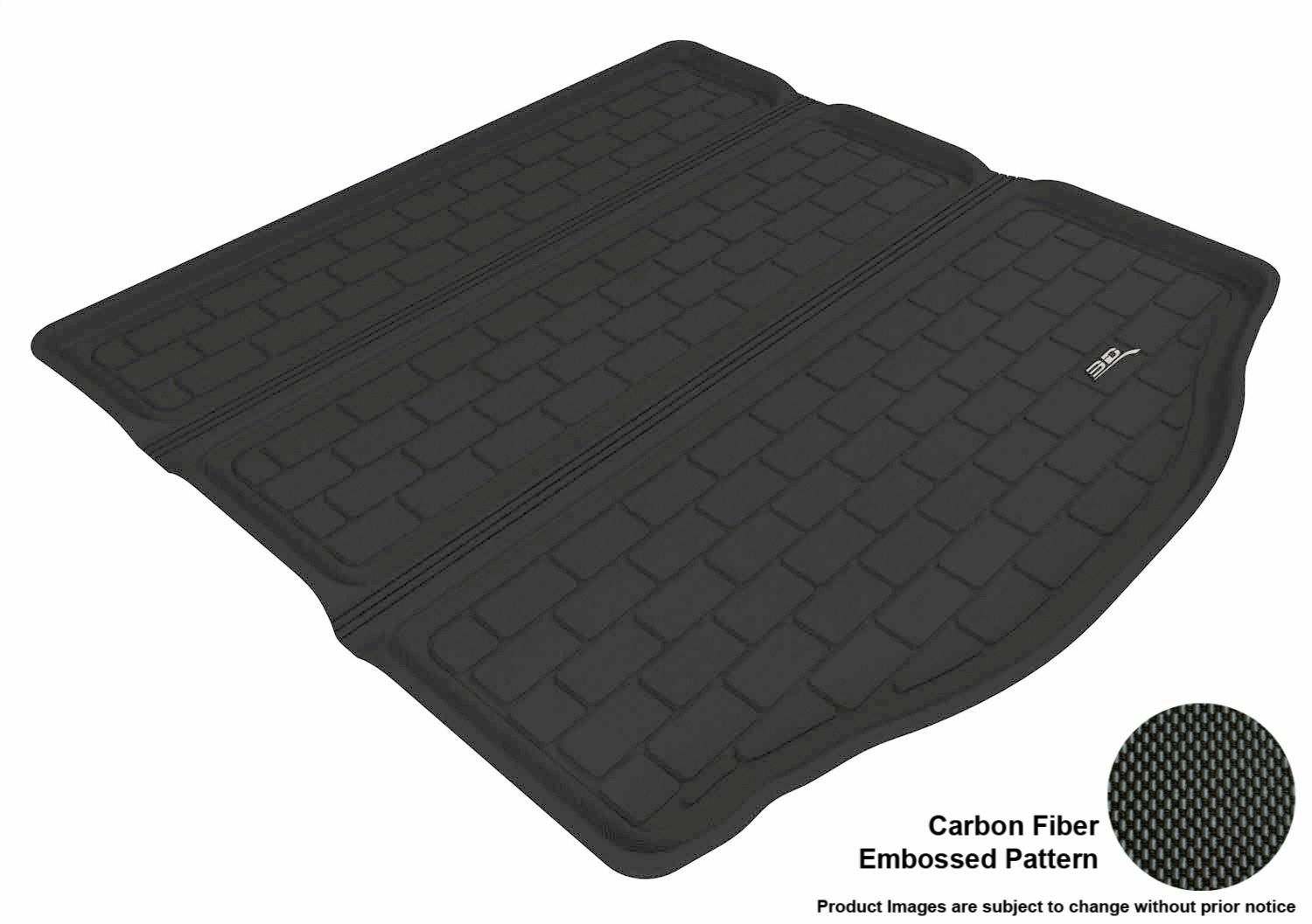 Tan Kagu Rubber 3D MAXpider Cargo Custom Fit All-Weather Floor Mat for Select Ford Focus Models