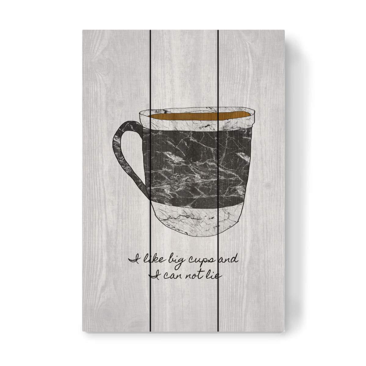 artboxONE Holzbild 50x50 cm Typografie Dad Quote von Künstler ...
