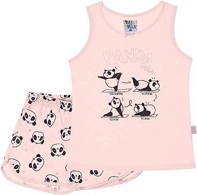 Pijama Rose - Primeiros Passos Menina Meia Malha 42605-11