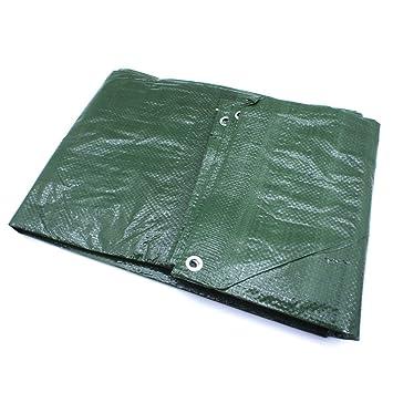 Gewebeplane dunkelgrün Maße 2 x 3  m Regenschutz Abdeckhaube