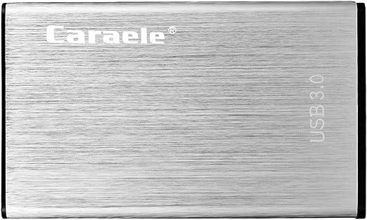 H HILABEE 2.5インチUSB3.0 SATA HDD 外付けケース ハードディスクドライブ 金属製 耐衝撃性 防水 - 320GB