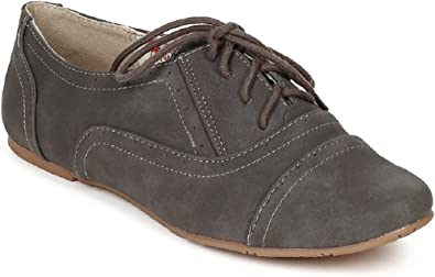 Women's Classic Oxford Lace Up Flats