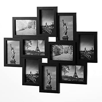 Bilderrahmen Schwarz Collage