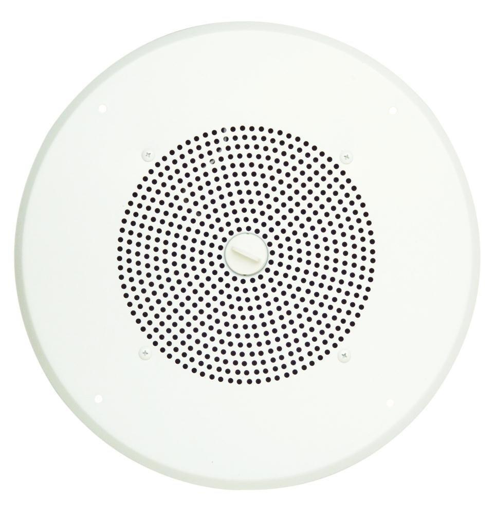 1W Self Amplified Ceiling Speaker White   B000P1BOMM