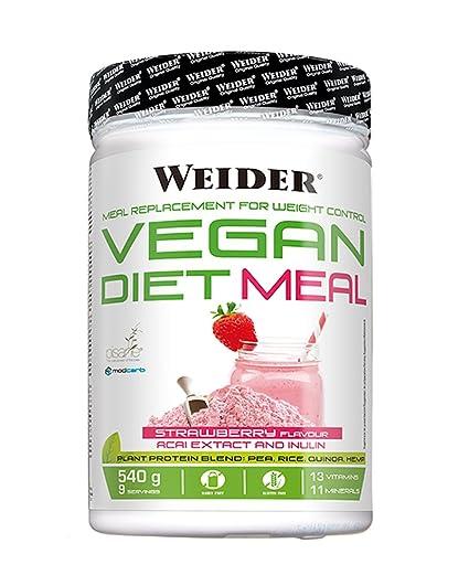 Weider Vegan Vegan Diet Meal - 540 gr Fresa