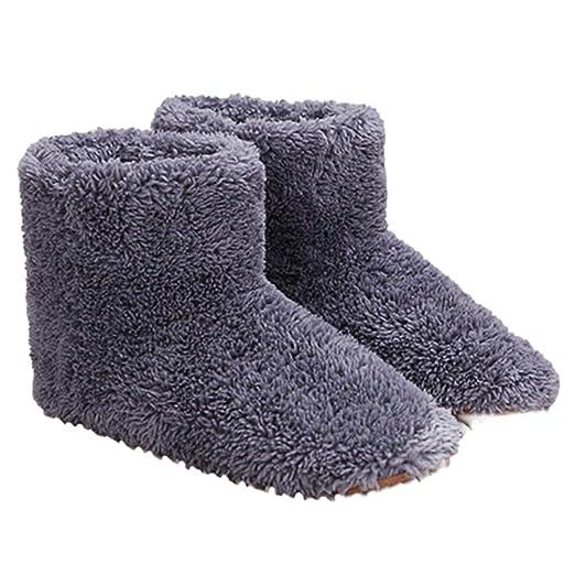 Egosy Zapatos de Calor Zapatillas calentables Zapatillas Calientes ...