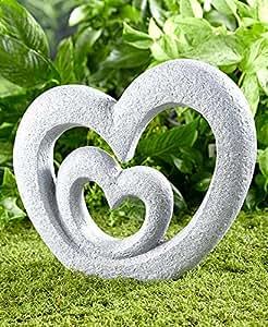 Amazon Com The Lakeside Collection Heart Garden Sculpture Garden