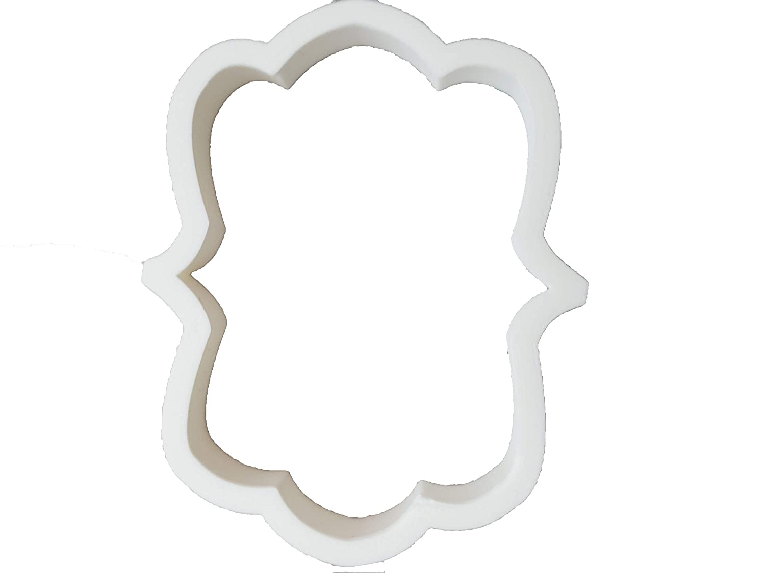 Dress and Plaque Cookie Cutters PLUS Icing Needle 5 Pack Wedding Cake Ring