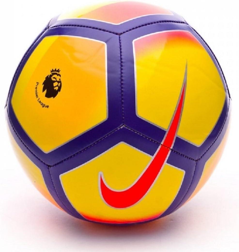 Nike Premier League fútbol Campo, Color Yellow/Purple/Pink, tamaño ...