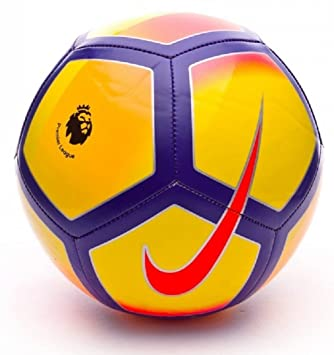 NIKE PITCH PREMIER LEAGUE FOOTBALL 2017 2018  Amazon.co.uk  Sports ... ea2438486db