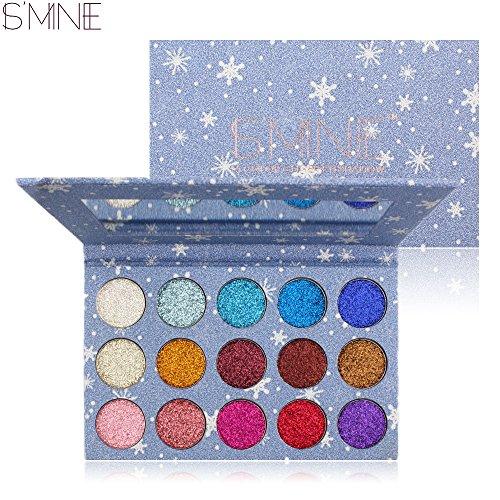 ISMINE Starry Sky 15 Colors Eyeshadow Glitter & Shimmer - Mine Glitter