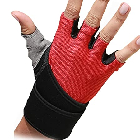 GUANTES Fitness Mujer Deportes Antideslizante Barbell Yoga ...