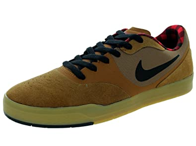 f3d3440db53 Image Unavailable. Image not available for. Color  NIKE Mens Paul Rodriguez  9 CS Ale Brown Black Gym red Skateboarding Shoes 8