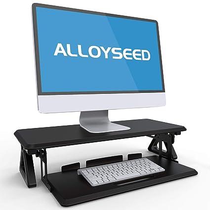 Amazon Com Computer Monitor Stand Alloyseed Tv Pc Laptop Computer