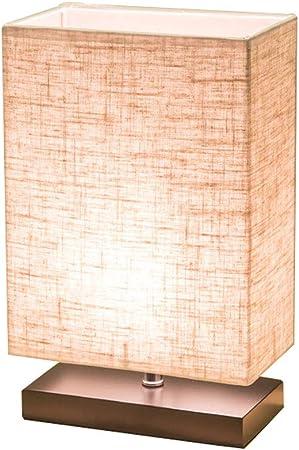XUENUO Lampe De Table en Bois, Moderne Lampe de Chevet