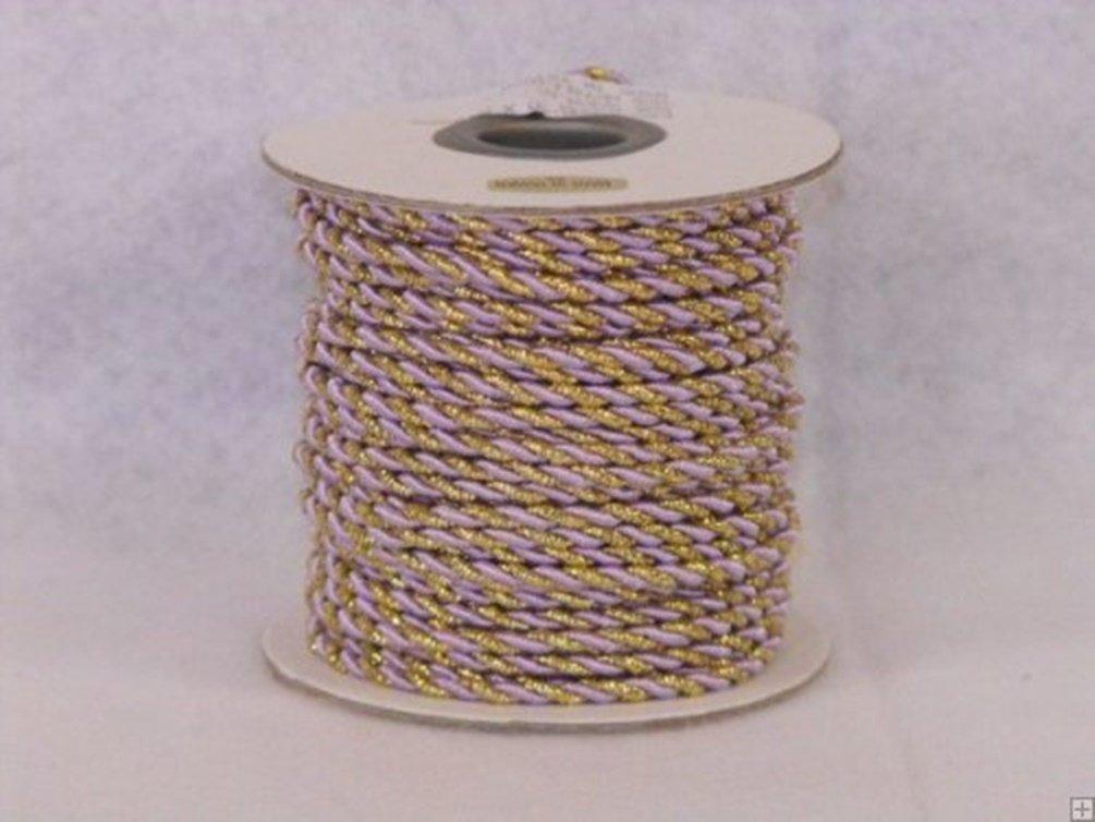 2 mm Twine Cord 25 Yard Roll Multi Color Burgundy /& Gold