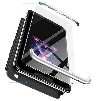 Qsdd Reemplazo para Huawei Honor 9 Lite 360°Protección 3 en 1 ...