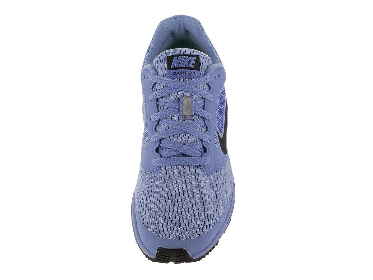 new style 7d1ac d103e Nike Women s Air Zoom Fly 2 Chalk Blue Black Racer Blue Running Shoe 6. 5  Women US  Amazon.in  Shoes   Handbags