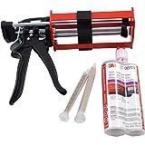 3M 08115 Panel Adhesive & 3M 08571 Manual Applicator Gun w/ABN Sticker [Misc.]