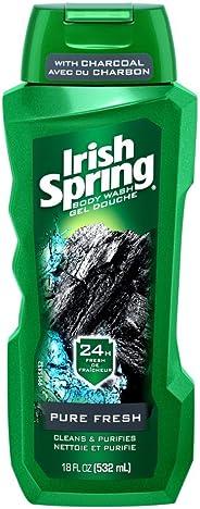 Irish Spring Men's Body Wash, Pure Fresh, 532 mL