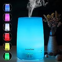 Diffusore di Aromi 150ml InnooCare Diffusore di Oli Essenziali Vaporizzatore - Umidificatore LED a 7 Colori con Timer Nebbia Fredda per Yoga, Spa, ecc.