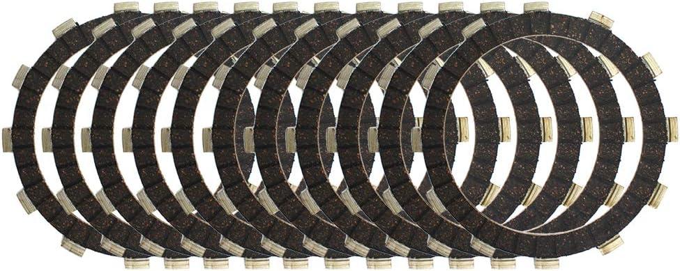 11pcs Clutch Friction Plates Kit For Yamaha XV1900 2006