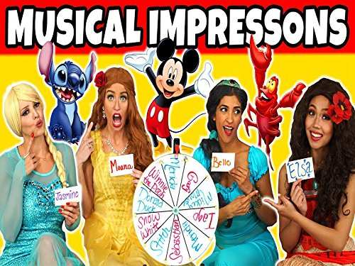 Wheel Of Musical Impressions! We Sing In Disney Character Voices