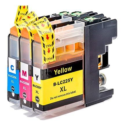 Teng® LC227XL LC225XL - Cartuchos de Tinta de Gran Capacidad ...