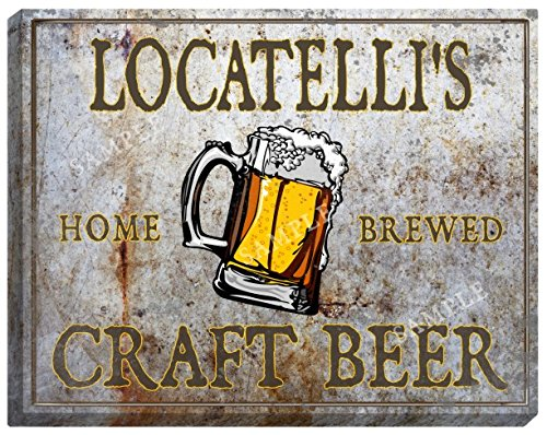 locatellis-craft-beer-stretched-canvas-sign