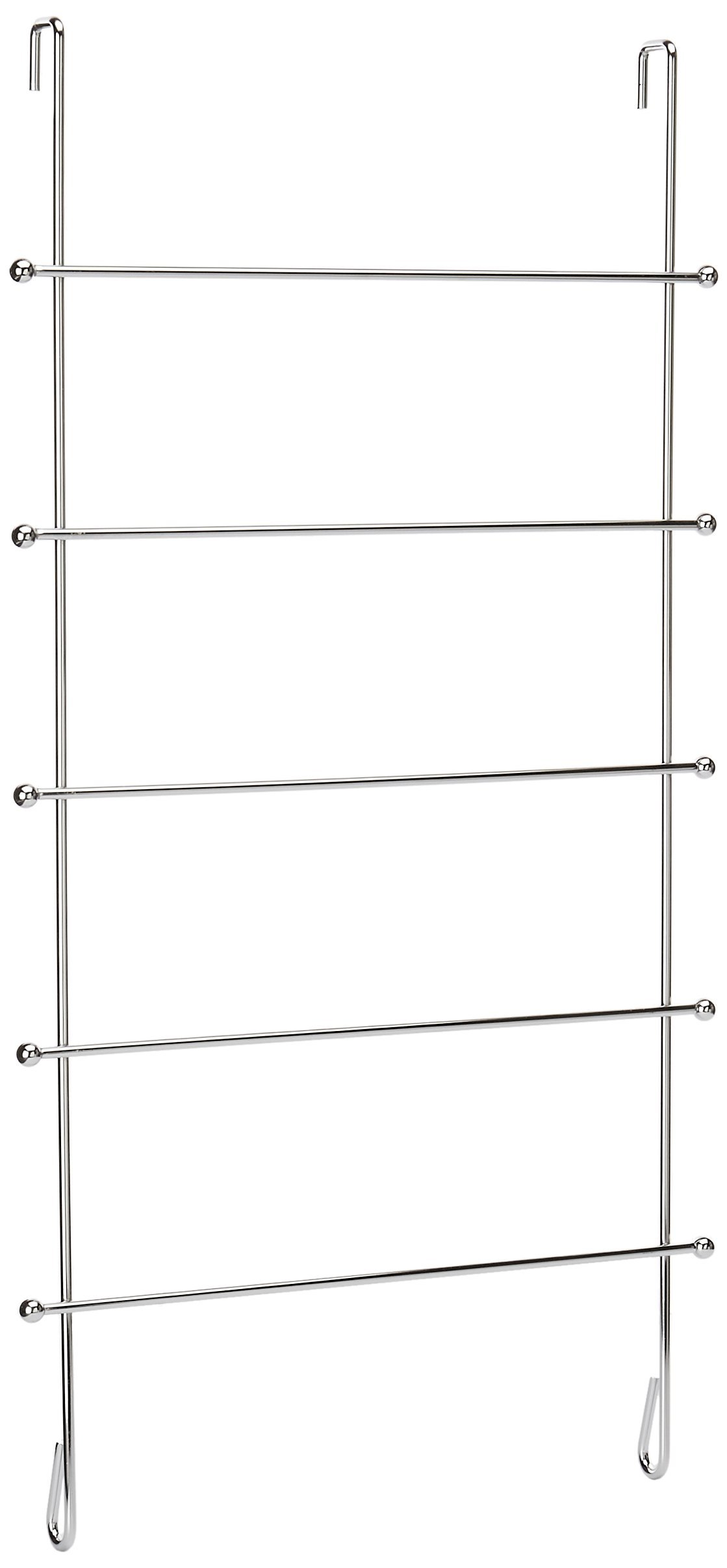 Organize It All Over The Door Chrome Hanging Towel Rack by Organize It All