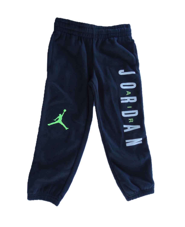 NIKE Air Jordan Fashion Pants (5, Black Lime)