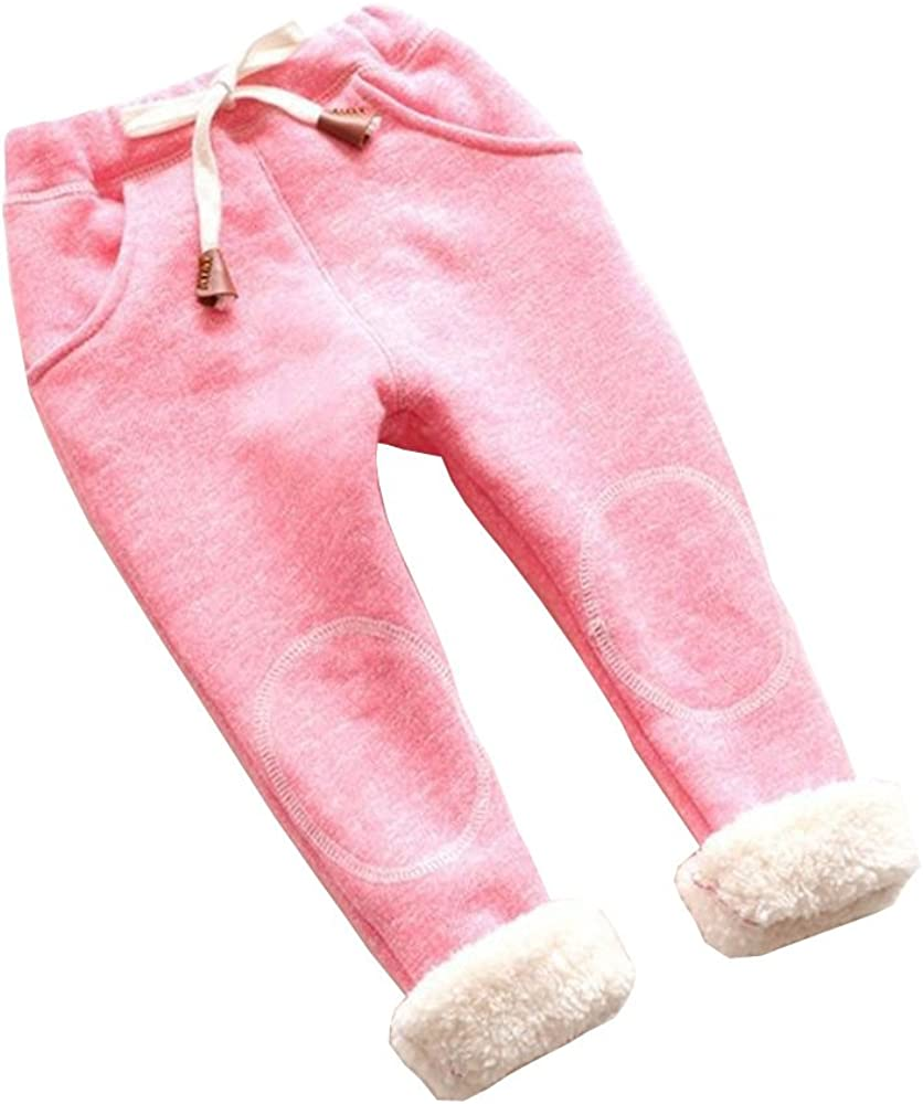 Baby Pants Infant Toddler Boy Girls Striped Winter Warm Pants Leggings Autumn Winter Cotton Trousers 0-5T