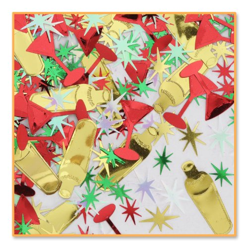 Holiday Cheer Confetti (Pack of 96) by Beistle