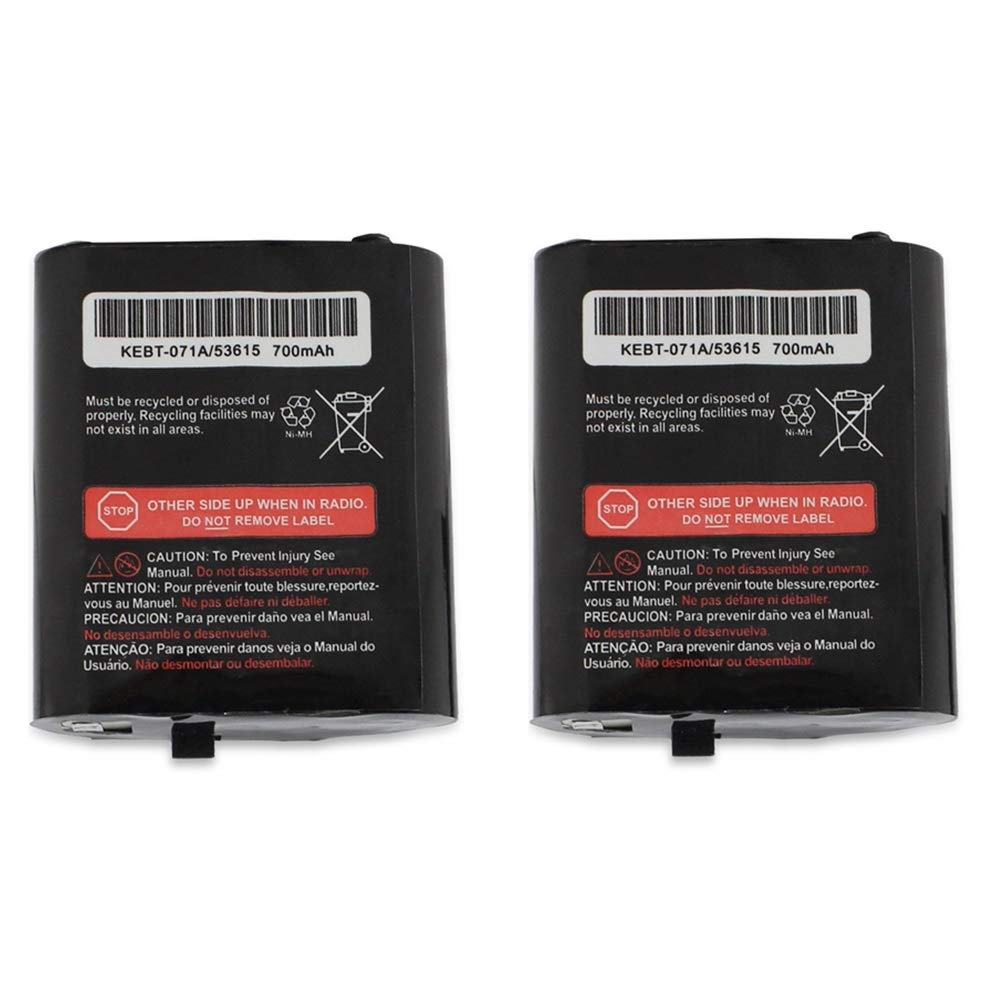 Amazon.com: Replacement KEBT-071A/53615 Battery Packs, TFSeven 2Pcs 700mAh Talkabout Rechargeable Battery for Motorola Talkabout 2/Two Way Radios Walkie ...