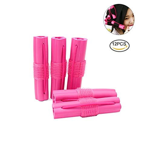 Pretty Ver esponja rizador de cabello rodillos de espuma flexible DIY Peinado Herramienta para pelo rizado