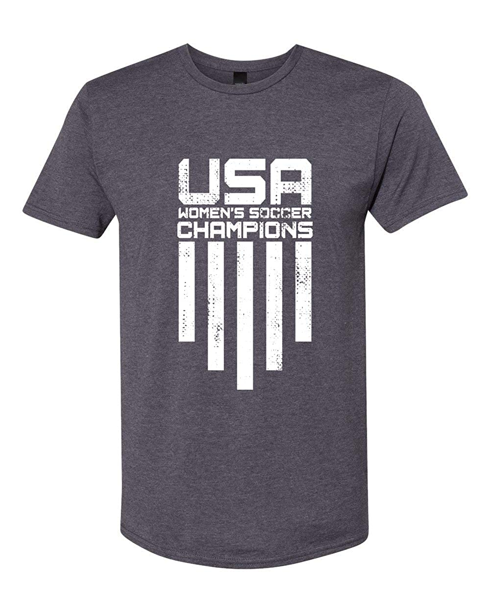 USA Womens Soccer Champions Unisex Graphic Tees Short Sleeve