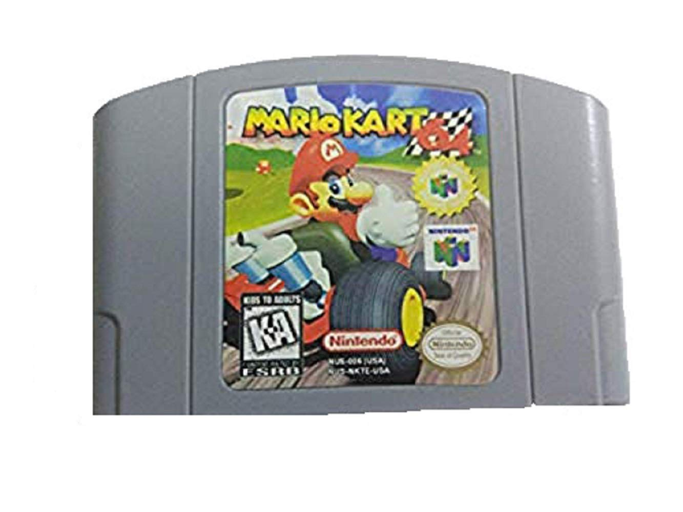Amazon Com Super Mario 64 And Mario Kart 64 Game Card For