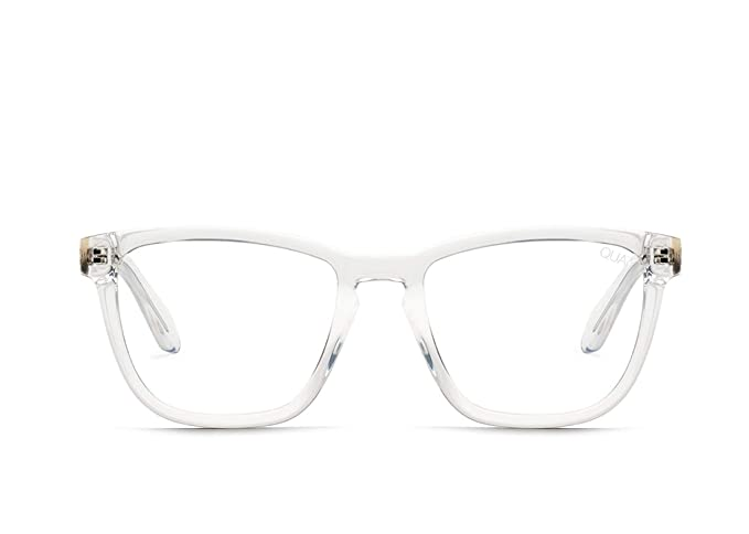 a213b4064e4 Image Unavailable. Image not available for. Colour  QUAY AUSTRALIA Unisex  Hardwire - Blue Light Glasses