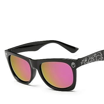 HCIUUI Gafas de sol de colores 924 Fabricantes Gafas de sol universales de las mujeres al