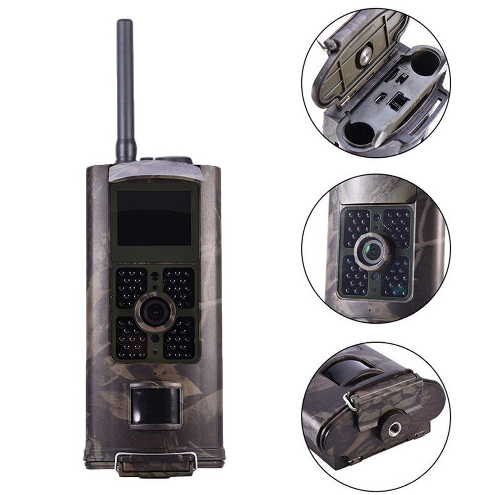 kaersishop HC-700G 3G Wasserdichte Videokamera fü r Ü berwachung , Unterstü tzt 3G SIM Karte /IMEI Bekommen echtzeite Fotos,6 AA-Alkalibatterien und Standby-Zeit bis zu 6 Monaten