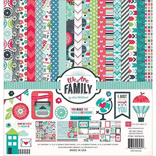 any WAF66016 We Are Family Collection Kits Scrapbook ()