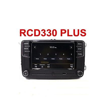 Amzparts RCD330 Plus 6RDO35187A MIB 6 5 Radio MP3 Bluetooth Player for VW  Polo Golf 5 6 Passat B6 B7 CC Tiguan Jetta MK5 MK6