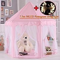 Tente pour enfants, tente Princess Castle Play, Tentes Kids Nook pour usage intérieur et extérieur, cadeau d'anniversaire