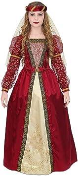 WIDMANN Srl disfraz Medieval de niña, Multicolor, wdm07336 ...