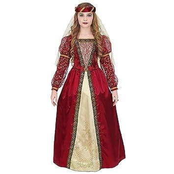 WIDMANN Disfraz de Princesa Medieval Aisa para niña M-(8/10 ...